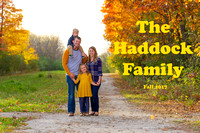 Haddock Family Fall 2017